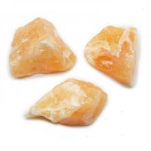 Pierre Brute Calcite Orange Mexique