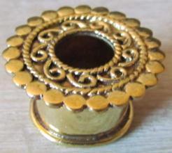 Ecarteurs 16 mm bronze