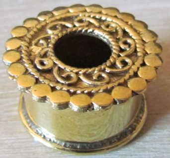 Ecarteurs 20 mm bronze