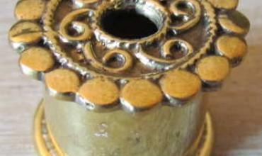 Ecarteurs 14 mm bronze