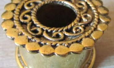 Ecarteurs 18 mm bronze