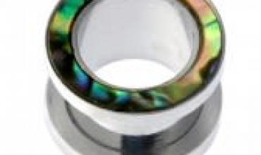 plug acier 14mm couronne abalone